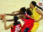Austrália e Estados Unidos disputaram uma vaga na final do basquete feminino