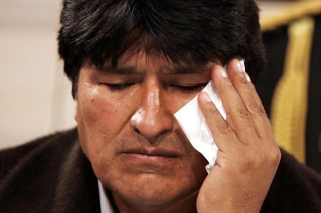 Evo Morales é acusado de engravidar filha de ministra Ver Descrição/Ver Descrição