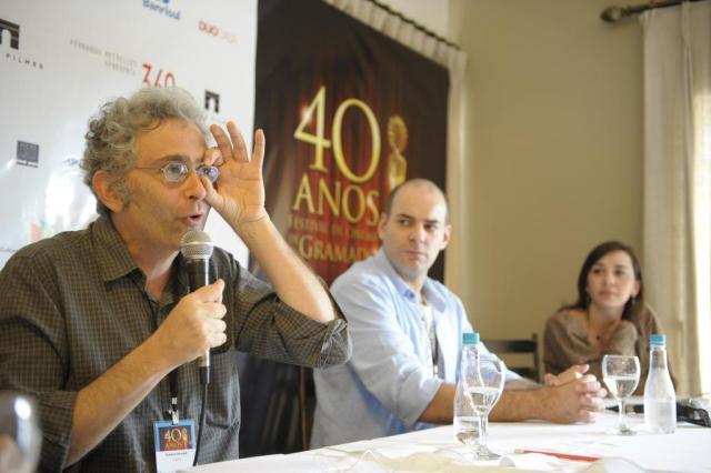 """""""Tentei interpretar um ator ruim"""", contou Marat Descartes, candidato forte ao Kikito de melhor ator Adriana Franciosi/Agencia RBS"""
