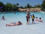No parque Aquatica, a ordem é relaxar e aproveitar os diferentes ambientes, como as praias sem onda
