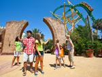 A montanha-russa Cheetah Hunt é uma das principais atrações do Busch Gardens, em Tampa