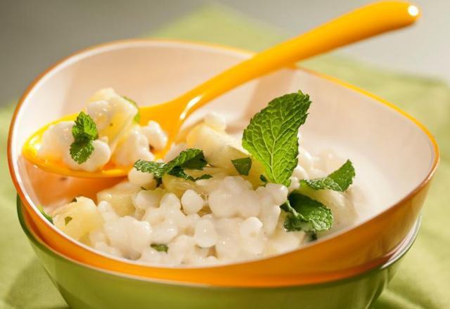 Prepare uma refrescante canjica branca Stela Morato/Divulgação