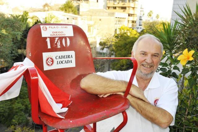 O destino das cadeiras, do boné e do gramado após a reformulação do estádio Andréa Graiz/Agencia RBS