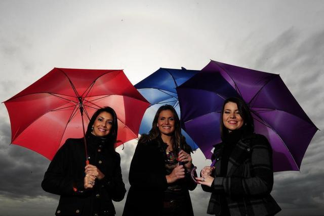 Meninas do tempo brilham faça chuva ou faça sol Ricardo Duarte/Agencia RBS