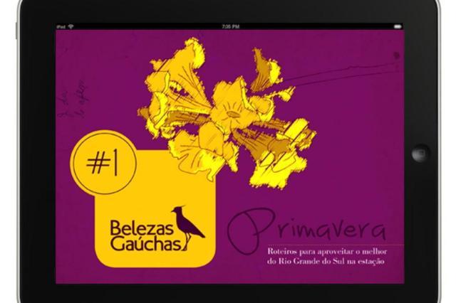 Belezas Gaúchas no seu tablet Reprodução/Divulgação