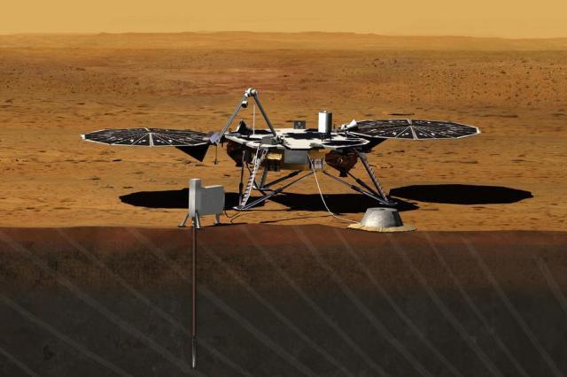 Nasa envia outro robô a Marte em 2016 Divulgação/AP Photo / NASA