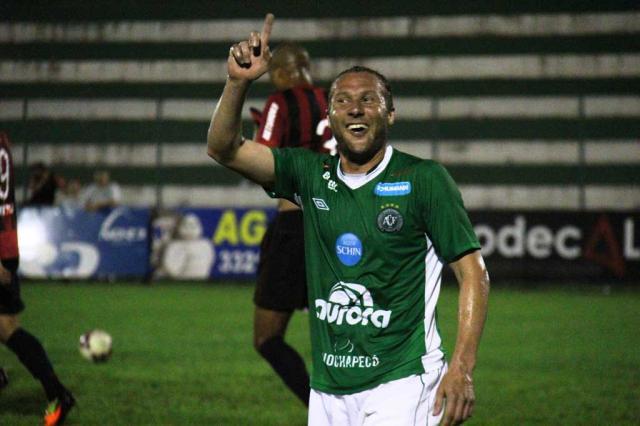 Rodrigo Gral marca na estreia em amistoso pela Chapecoense Rodrigo Goulart/Diário do Iguaçu/