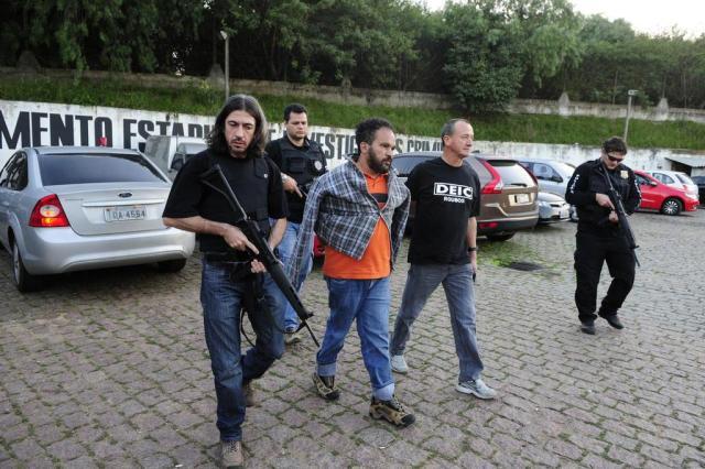 Foragido da polícia, suspeito de assaltos a banco e crimes cometidos fora do país é preso no RS Ronaldo Bernardi/Agencia RBS
