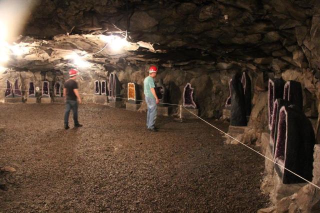 Minas de ametista e ágata são atração em Ametista do Sul, no norte do Estado Marielise Ferreira/Agencia RBS