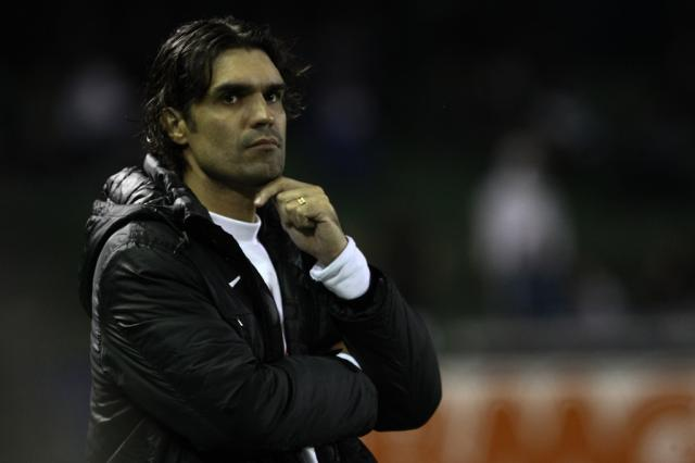"""Após derrota em Curitiba, Fernandão descarta deixar o Inter: """"Eu não vou desistir"""" GERALDO BUBNIAK/AE/"""