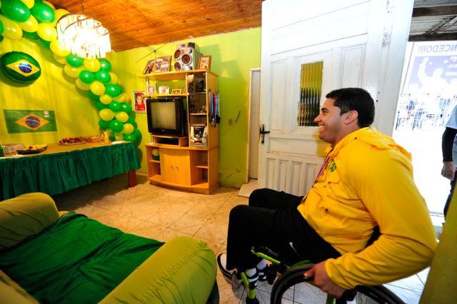 A história de superação do gaúcho Jovane Guissone, medalha de ouro na Paralimpíada Diego Vara/