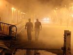 Protestos foram realizadas no Egito próximo à embaixada dos EUA no Cairo. A polícia usou gás lacrimogêneo para dispersar manifestantes