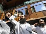 Na Cachemira, muçulmanos fazem manifestação contra o filme em Srinagar