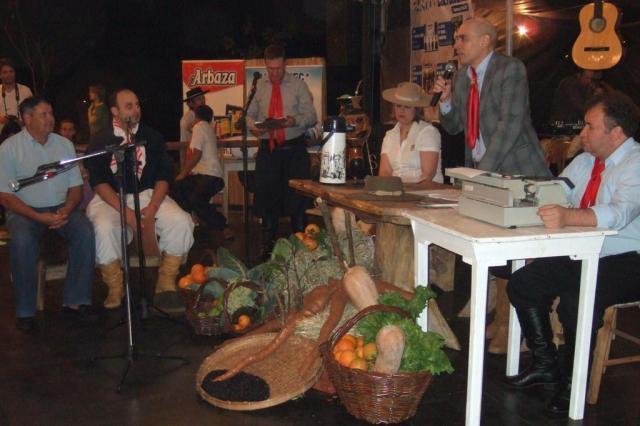 Audiência crioula é realizada em praça de Taquaruçu do Sul Karine Zanatta/Especial