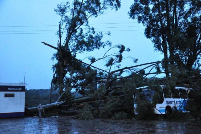 Vento e chuva deixam centenas de casas destelhadas no Norte Diogo Zanatta/Especial