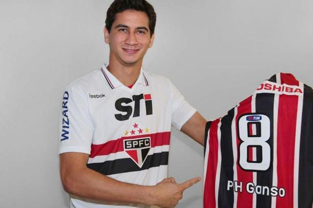 São Paulo oficializa contratação de Paulo Henrique Ganso  Rubens Chiri/Divulgação