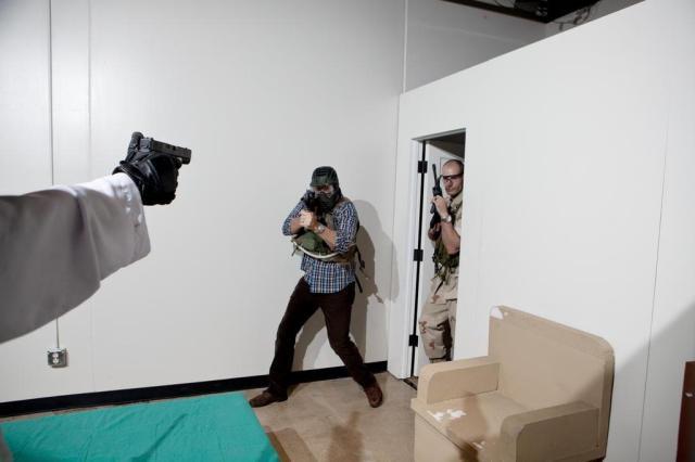 Americanos pagam para reencenar ataque que matou Osama bin Laden Jenn Ackerman/NYTNS