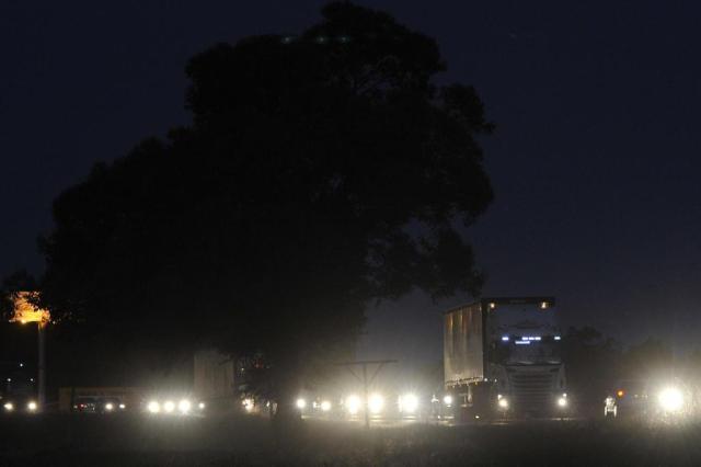 BR-101, em Laguna, segue movimentada Emílio Pedroso/Agencia RBS