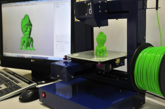 Como funciona a impressora 3D Tadeu Vilani/Agencia RBS