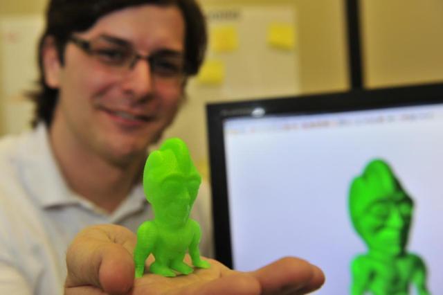 Impressoras 3D criam expectativa de transformação e criação de novos negócios Tadeu Vilani/Agencia RBS