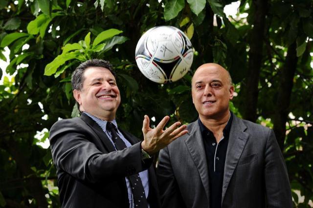 Jorge Machado e Gilmar Veloz: empresários dos milhões Adriana Franciosi/Agencia RBS