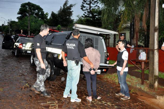 Polícia Civil desmantela quadrilhas de tráfico de drogas em três cidades do Noroeste Abel Oliveira / Especial/