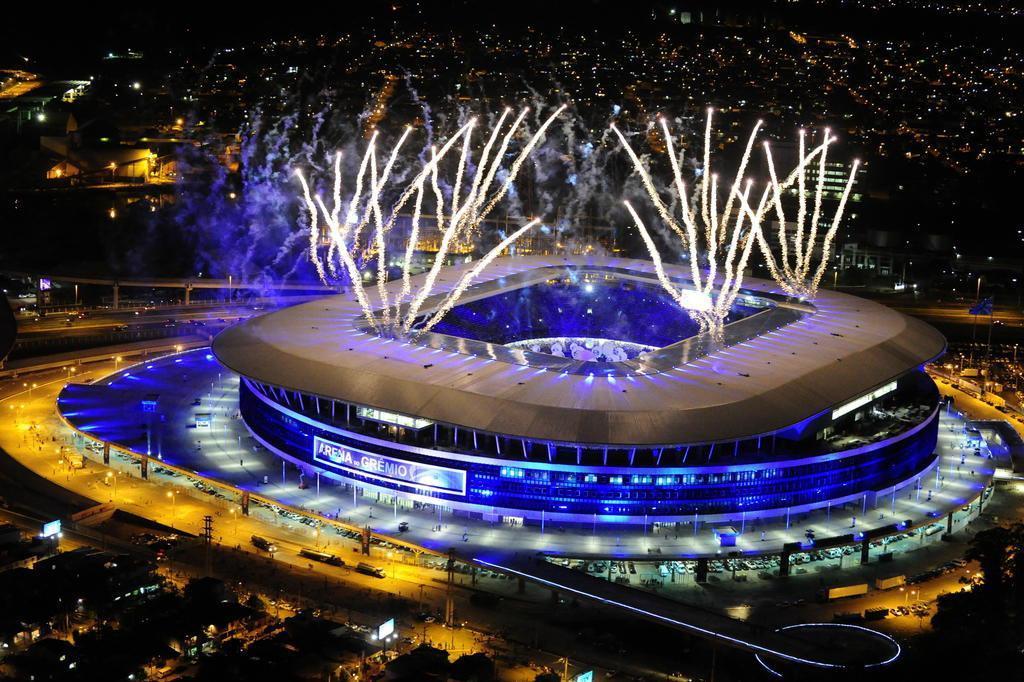 Torcedores elegem a Arena como o estádio mais temido da Libertadores Ronaldo Bernardi/Agencia RBS