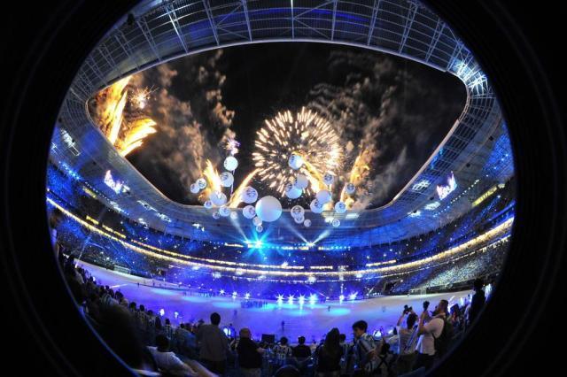 FOTOS: os melhores momentos da inauguração da Arena do Grêmio Omar freitas/Agencia RBS
