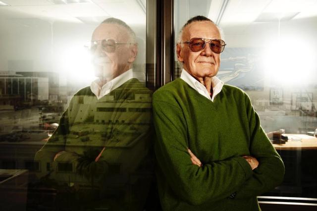Stan Lee brinca que faria participação em filme da DC Divulgação/History Channel