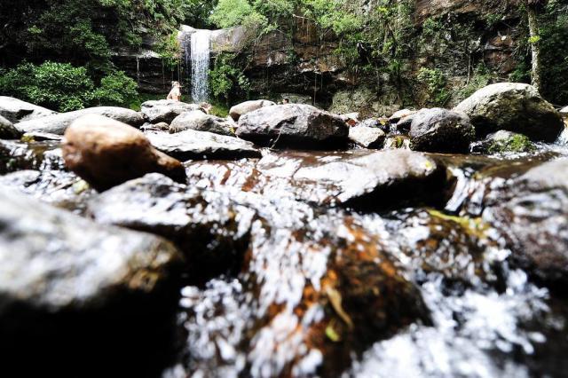 Cascata do Garapiá, em Maquiné, é garantia de diversão refrescante Ricardo Duarte/Agencia RBS
