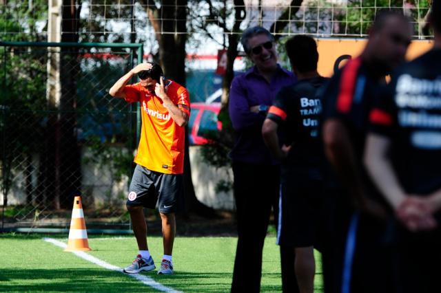 Guiñazu deixa o Inter e retorna ao Libertad, do Paraguai Mauro Vieira/