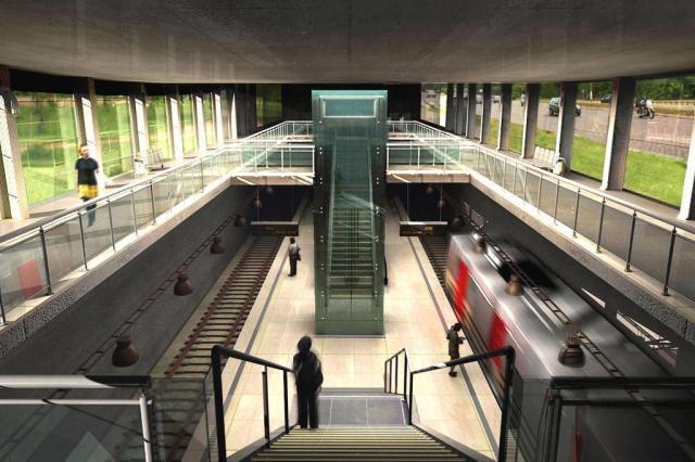 Porto Alegre perde os recursos federais para o metrô Reprodução/Ver Descrição