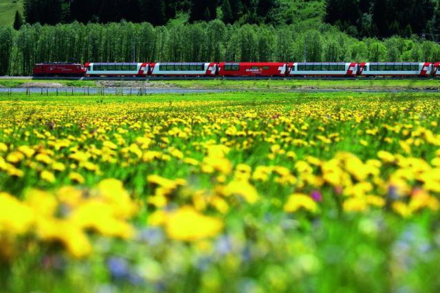 Rail Europe oferece um dia gratuito de viagem de trem pela Suíça Divulgação/AFT Comunicação