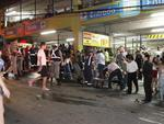 Mais de 200 feridos foram encaminhados para os hospitais da região, que já estão lotados