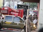 Caminhão é utilizado para transportas as vítimas da tragédia