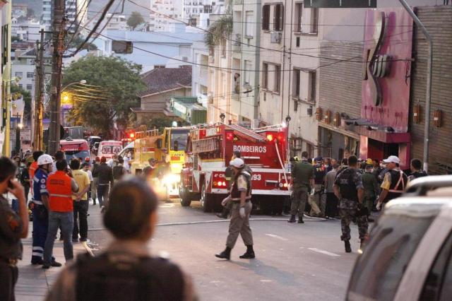 Confira a lista de feridos em incêndio em boate em Santa Maria Germano Rorato/Especial