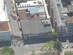 Foto aérea mostra a rua dos Andradas, em Santa Maria, local da tragédia na boate Kiss.