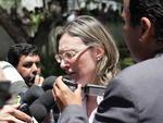 A ministra dos Direitos Humanos, Maria do Rosário, acompanha os desdobramentos do incêndio de Santa Maria, que deixou centenas de mortos