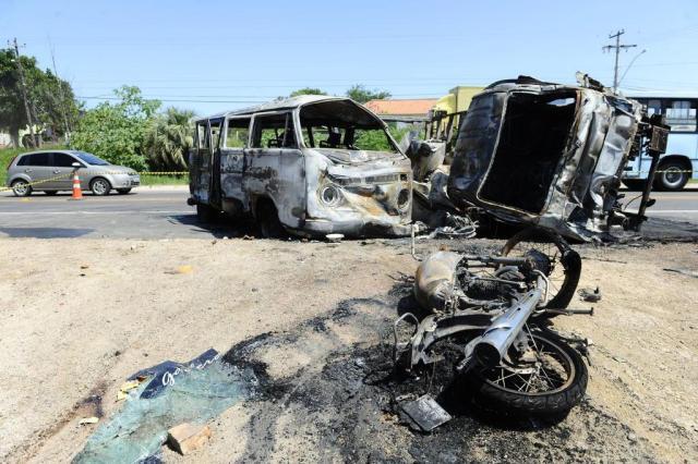 Acidente deixa dois mortos e bloqueia a ERS-040 em Viamão Mauro Vieira/Agencia RBS