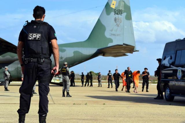 Presídio Federal de Mossoró (RN) recebe 37 presos transferidos de cadeias em Santa Catarina Luciano Lellys / Jornal Omossoroense/Divulgação
