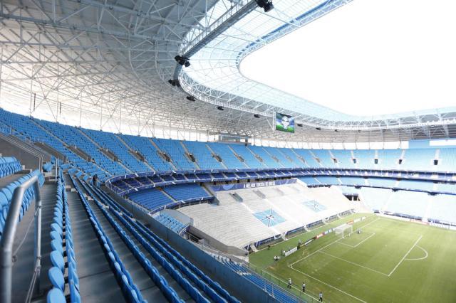 Para manter salários em dia, Grêmio acumula dívida de R$ 6,8 milhões com Arena Ricardo Duarte/