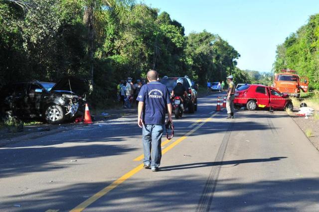 Vítimas de acidente em Restinga Seca voltavam de enterro de familiar em Santa Maria Ronald Mendes/Agencia RBS