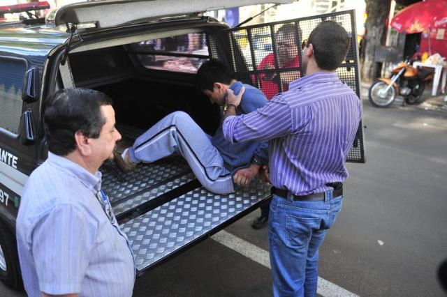 Assassino de taxistas se contradiz em depoimentos dados em Porto Alegre e na Fronteira Oeste Tadeu Vilani/Agencia RBS