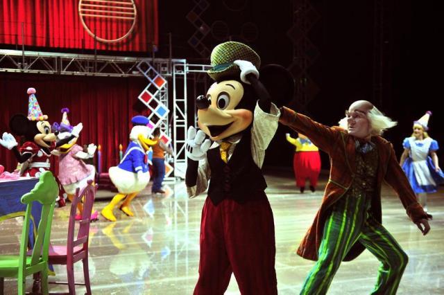 """Espetáculo """"Vamos Festejar!"""", do Disney On Ice, estreia nesta quarta em Porto Alegre Bruno Maestrini/Agência RBS"""