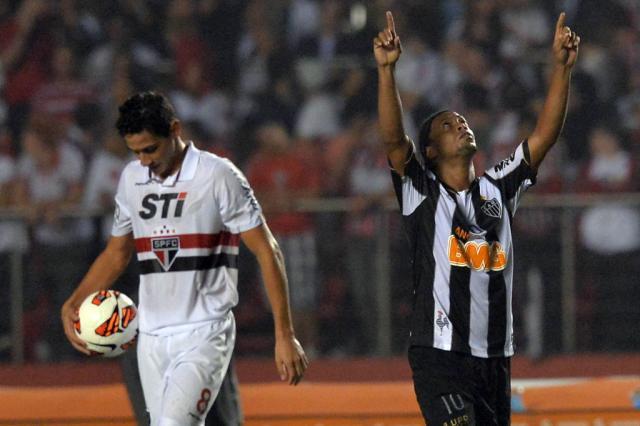 Atlético-MG e São Paulo decidem vaga nas quartas de final da Libertadores Nelson Almeida,AFP/