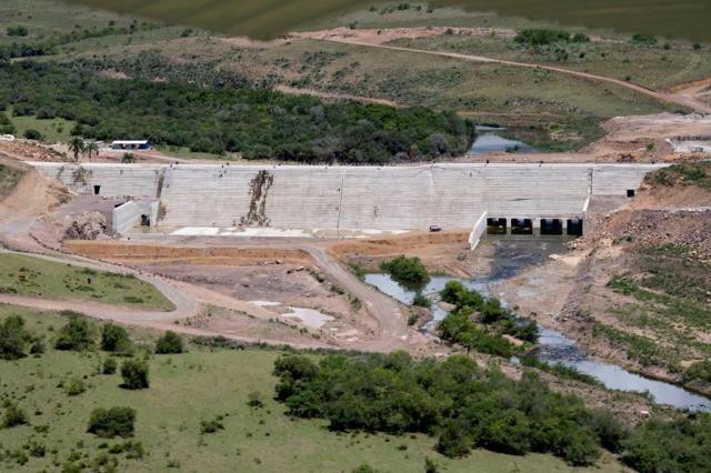 Com verba federal, Estado retomará obras das barragens de Taquarembó e Jaguari  Divulgação/Divulgação