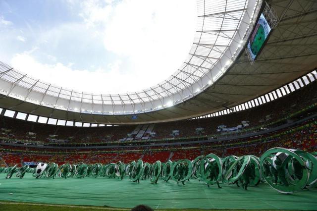 Custo de estádios no Brasil ultrapassa o das Copas da África e Alemanha juntos Lauro Alves/Agencia RBS
