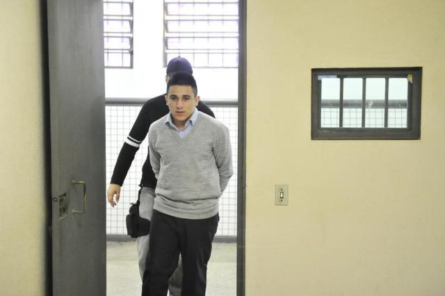 Justiça condena Luan Barcelos da Silva a 55 anos de prisão pela morte de três taxistas Carlos Macedo/Agencia RBS