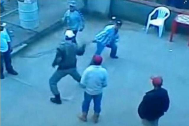 Abordagem de PM contra homem em Barros Cassal repercute na internet Reprodução/Facebook