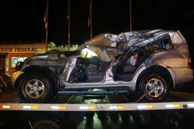 Pai e filho morrem em acidente na BR-386, em Lajeado Polícia Rodoviária Federal/Divulgação